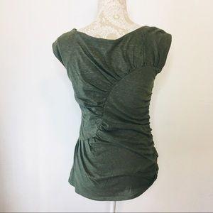 Deletta Tops - Deletta Anthropologie cap sleeve knit top Medium